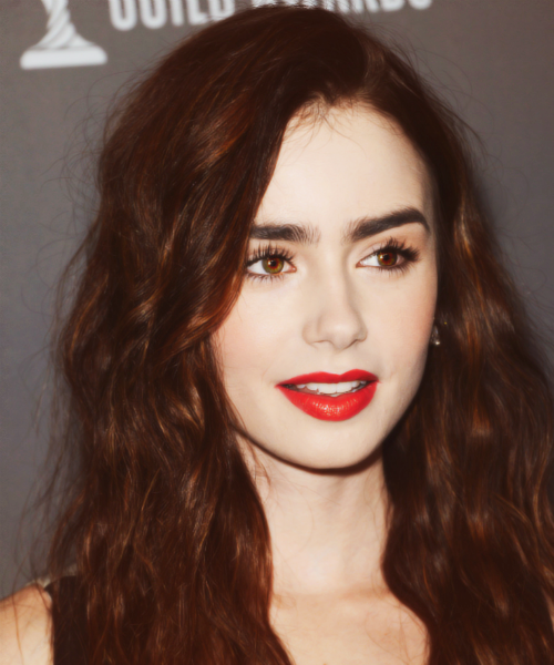 Lily Collins|15th Annual Costume Designers Guild Awards (2013)