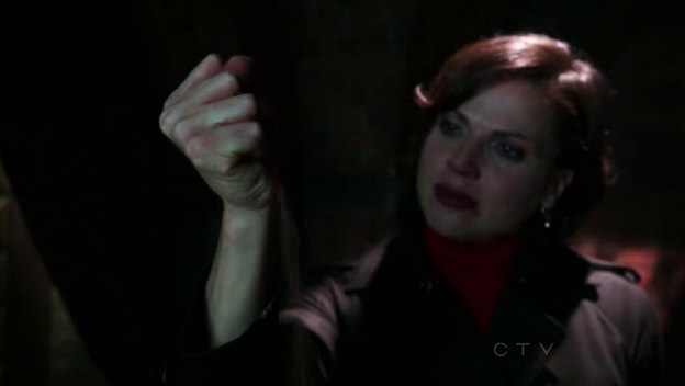 Regina, you witch! I thought you liked him enough to spare him T.T But no, you just went ahead and crushed his heart.I was fool to expect something from a woman who killed the man she loved most in the world, her father.You could have at least let emma kiss him again!huhuh. gremma feels, such a wonderful ship.