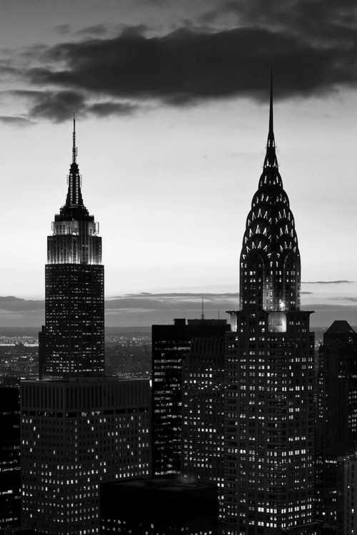 new york city in B/W
