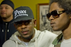 rob-lee:  Kendrick Lamar &  Ab-Soul Photo by A Rob Lee Visual