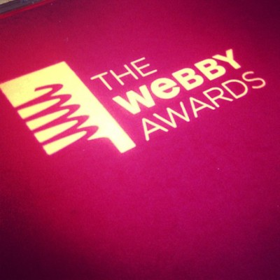 Live from the red carpet it's The 17th Annual Webby Awards! #webbys