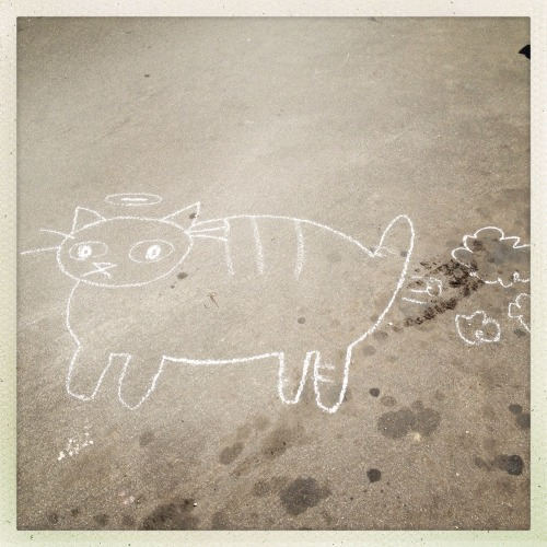 #echoparkartwalk May 2013 feedingbirdsboutique:  HAPPY CATURDAY!