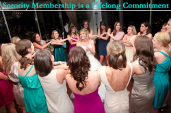 Sorority Membership is a Lifelong Commitment