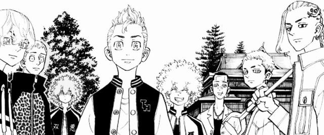 Tokyo Revengers, Vol. 22 (2017 - ?) #tokyo revengers#manga#manga scan #black and white  #tokyo revengers volume 22 #takemichi#takemichi hanagaki#draken#ken ryuuguji#chifuyu#chifuyu matsuno#nahoya#nahoya kawata#souya#souya kawata#hakkai#mitsuya#mitsuya takashi#hakkai shiba#ryohei hayashi#peyan #takemichi (tokyo revengers)  #draken (tokyo revengers)  #chifuyu (tokyo revengers)  #nahoya (tokyo revengers)  #souya (tokyo revengers)  #hakkai (tokyo revengers)  #mitsuya (tokyo revengers)  #peyan (tokyo revengers)