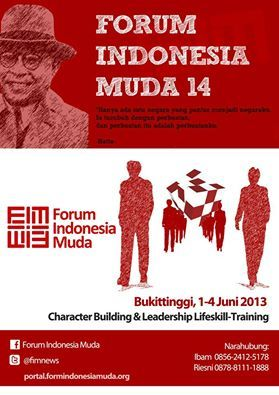 rinisetia:  @fimnews #FIM14 chapter Bukittinggi. Coming soon in 1-4 June 2013 :)