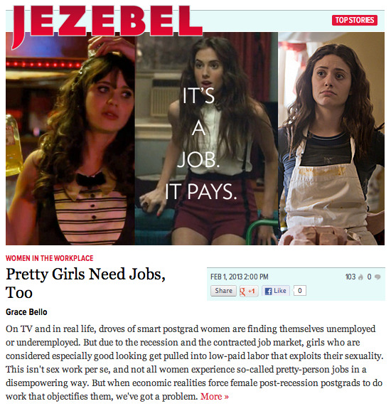 What doNew Girl,Girls, andShamelessteach us about post-recession girls? Read my article on Jezebel.