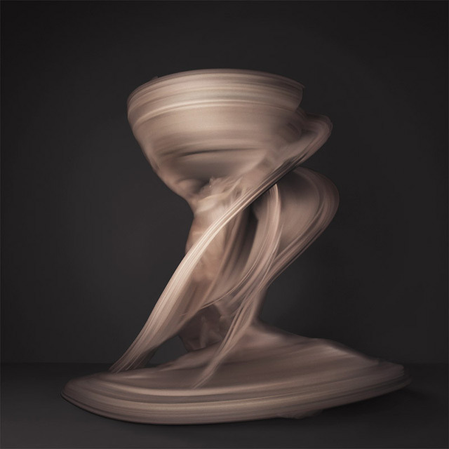 kthread:     Shinichi Maruyama's previous photographic works captured the momentary stances of water, using a high speed camera to freeze images of fluid in motion. For his new series, NUDE, Maruyama teamed up with choreographer Jessica Lang to create photos that encapsulate every granular moment of a nude dancer's motion. Each image is composed of 10,000 photos of a brief instance.   Wow. Link.    Gorgeous in its dervish-ness.