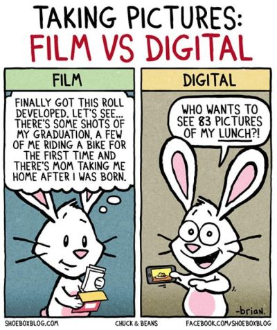 Taking Pictures: Film vs. Digital