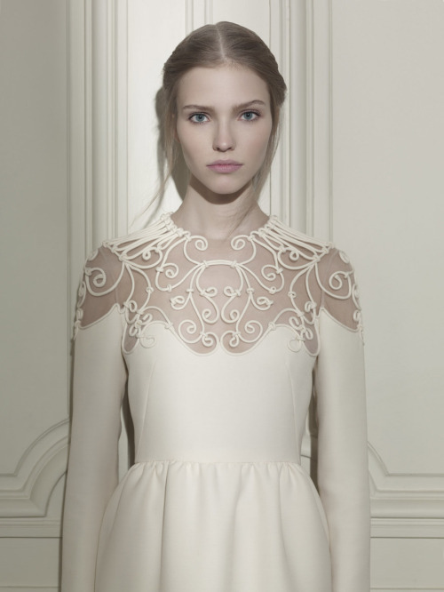 "stormtrooperfashion:  Sasha Luss in ""Valentino Haute Couture"" by Gian Paolo Barbieri for Vogue Italia, March 2013"