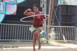 Yours truly hooping at Origin Fest 2013