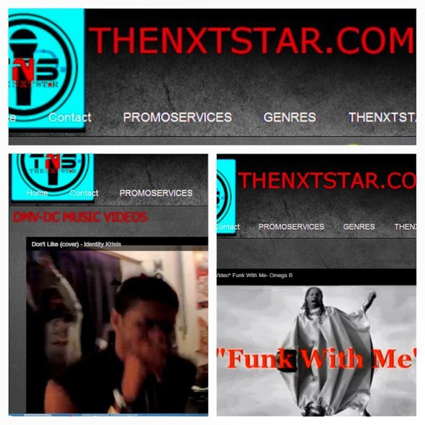 Big ups to @THENXTSTAR_RAP #TheNextStar.Com showing both @JaiYokoEnt artist that feature love! @identitykrisis @iamomegab #DMV #Alabama #TateMusicGroup #krismericathealbum #DeclarationOfINDIEpendence #JaiYokoEntRostwr