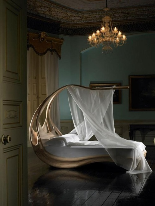 Exotic Canopy Bed