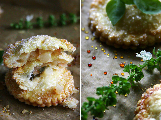 White Peach, Rose, and Basil Hand Pies by Beth Kirby | {local milk} on Flickr.