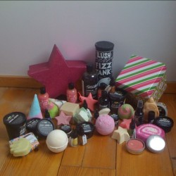 What do you mean too much Lush?  (bij The Pink House)