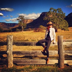 oh-so-coco:  I think I've found my true calling as a cowgirl in the Australian outback.  #cocorocha