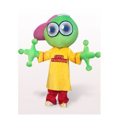 fukin:  Green Big Head Frog Fancy Dress Adult Mascot Costume Other Mascot Costumes Discount Costume - $294.99