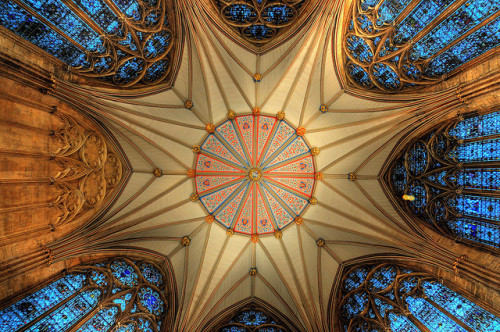 Chapter House, York Minster. by KCLam on Flickr.