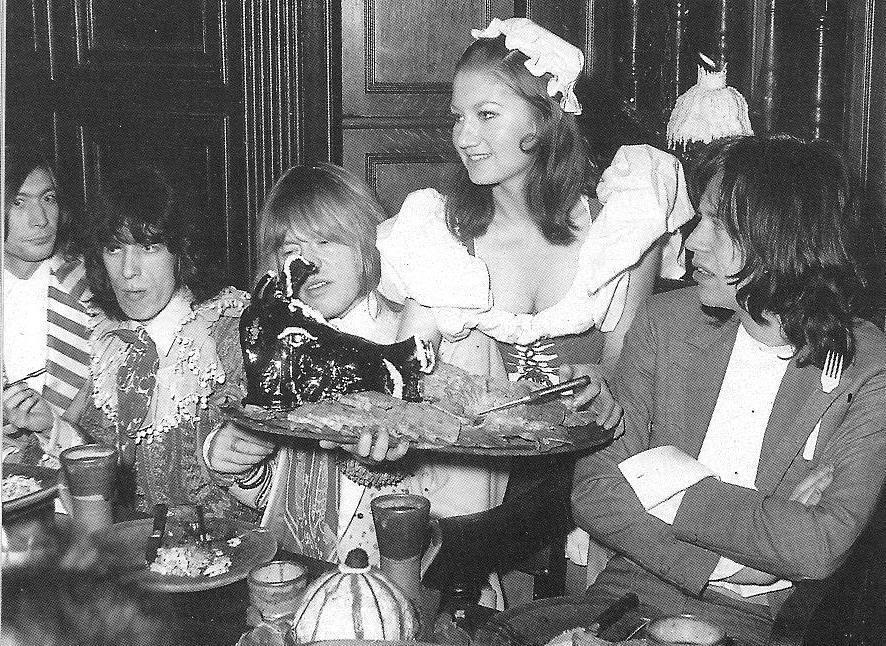 CHARLIE WATTS, BILL WYMAN, BRIAN JONES et MICK JAGGER