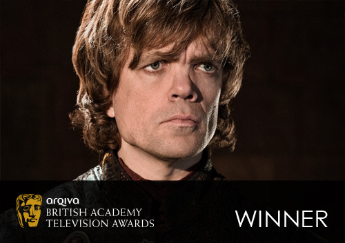 wicnet:  bafta-television:  Radio Times Audience Award Winner: Game of Thrones Find out more about this Award on BAFTA.org.  Game of Thrones wins the Audience Award at the BAFTAs.