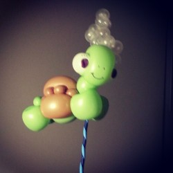 #balloon #turtle #stickfigure working on some new twists on old designs… (at Your Total Entertainment)