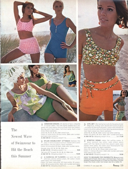 1960s swimwear from Penneys.