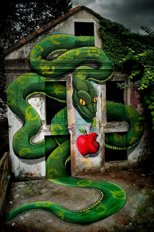 Amazing Street Art by Various Artists
