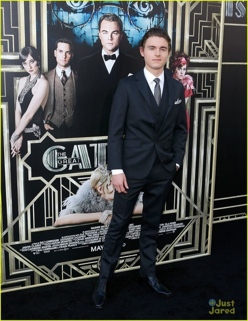 fashionbenefits:  Callan McAuliffe: 'The Great Gatsby' Premiere