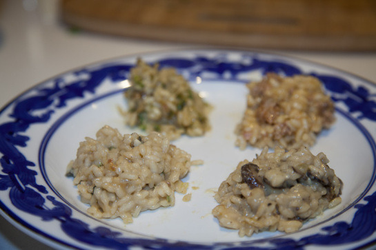 I went to an incredible risotto and wine dinner party last month prepared by chef Michelle Lawton of joyful plate. The dinner was an auction item at the West Side Campaign Against Hunger's 2012 benefit dinner that new friend Marianne won and graciously invited me to share in. You should read more and look at the photos, especially if you're hungry for some risotto!