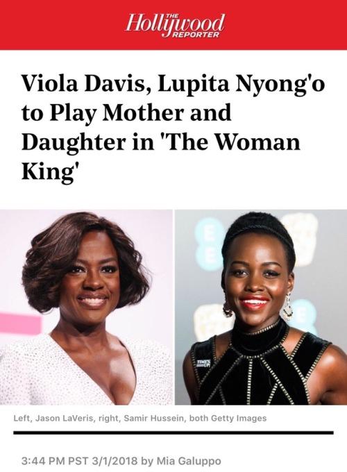 tristar pictures viola davis lupita nyong& 039;o the woman king the kingdom of dahomey amazons