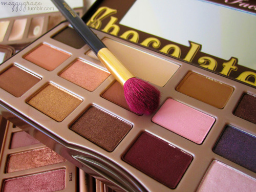 meggygrace:  Too Faced Chocolate Bar palette