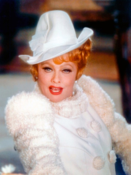 superseventies:  Lucille Ball in 'Mame', 1974.  Love Lucille Ball!