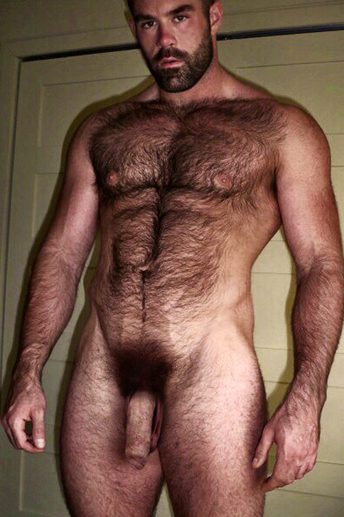 hairy men nude: