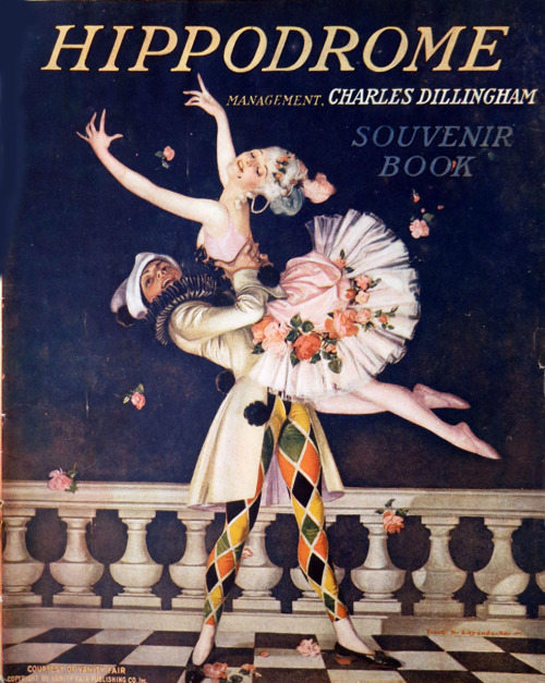 sydneyflapper:  1919 - 1920 program for the New York Hippodrome