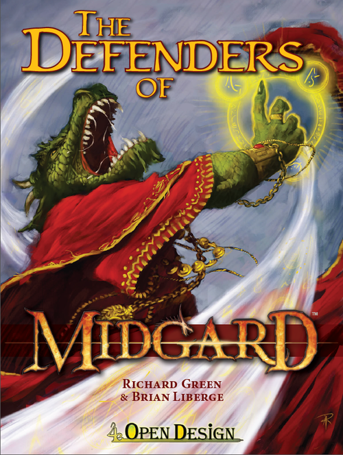 A cover I did a few months ago. (via Defenders of Midgard - Aaron J Riley Blog - aaronjriley.com)