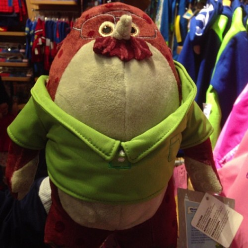 Don Carlton Plush #MonstersUniversity