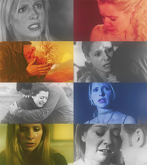 Screencap meme: Buffy the Vampire Slayer + my emotionsasked by  juliansnarks