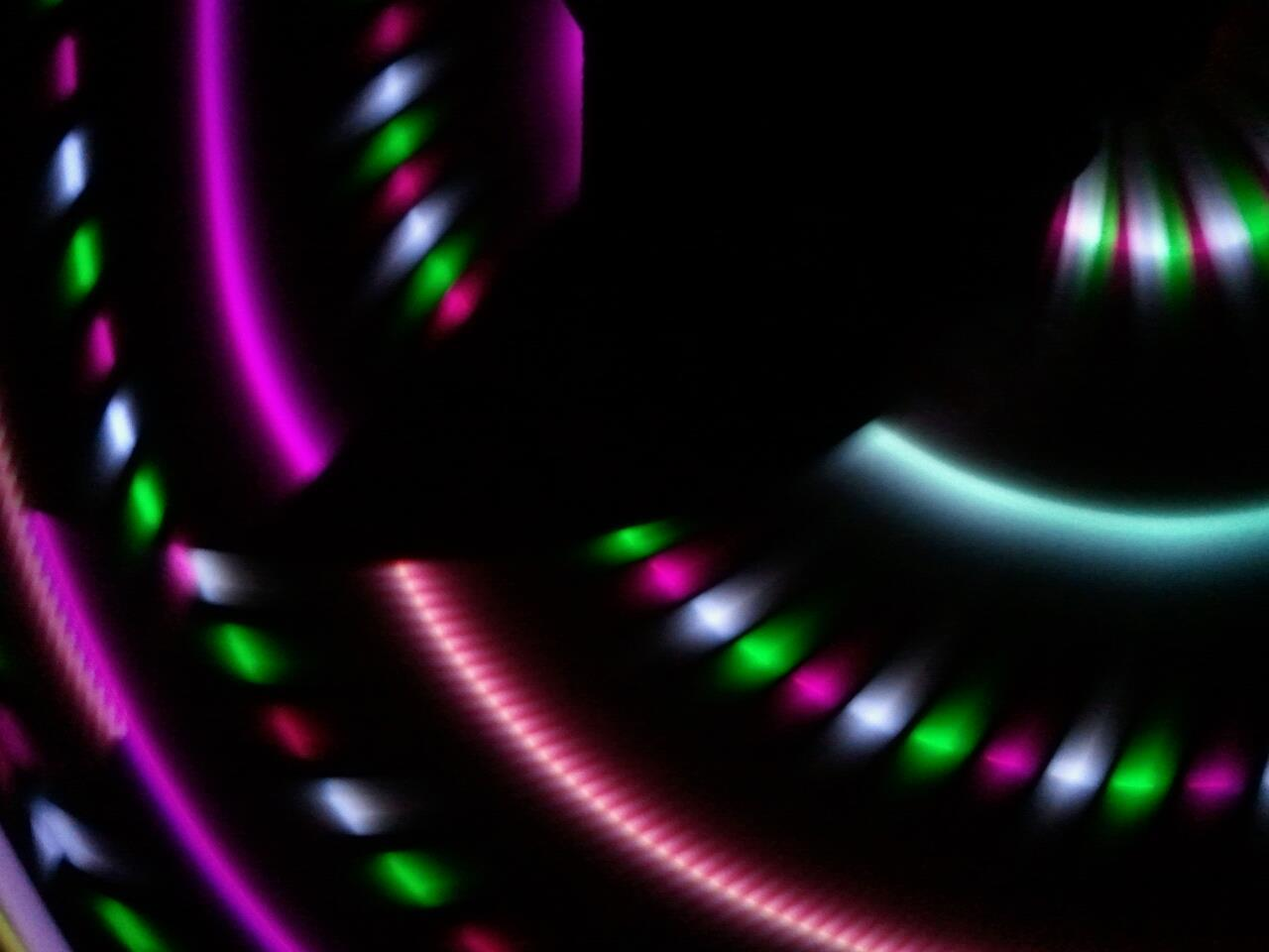 Moodhoops Prism LED Hula Hoop gravygraceface:  I'm in love with my new Moodhoop Prism <3 The colors are amazing and super bright <3