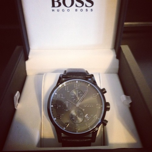 Sh*t that u don't floss… Goyard so hard I'm Hugo's boss!!! #nice #watch #black #fashion #popular #bmf #hugoboss #igfamous