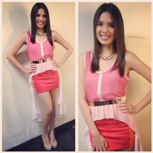 The absolutely gorgeous (both inside & out!) @MichelleVito in #K8LA's summer collection! #fashion #girl #outfit #ootd