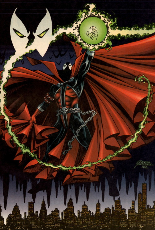 oldest-city-comic-collection:  Spawn by George Perez