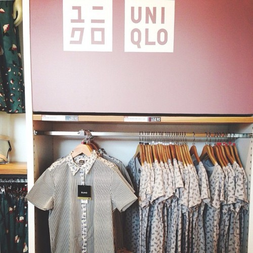 Getting fitted in @suno_ny x @uniqlousa. I'm hosting an event at the SF store on Thursday at 8! (at UNIQLO (ユニクロ))
