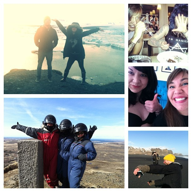 Glaciers & Twin Peaks & brownies, beaches, and boobs. #yoloiceland #icelandrecap #reykjavik #pleasebeaseal @kconthemastadon @jasonkillskittens @talltalks