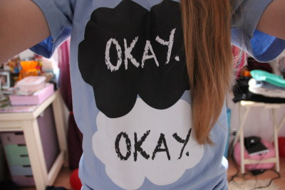 ever1asting:  anch-ors:  YES MY TFIOS SHIRT IM IN LOVE WITH IT   omg i love it