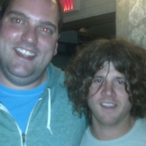 Met Jello Man after last night's (amazing) Kurt Vile show in Boston. He is real and he is great.
