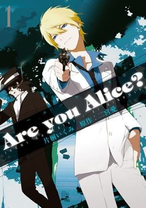 "Volume 1 cover to ""Are You Alice?"""