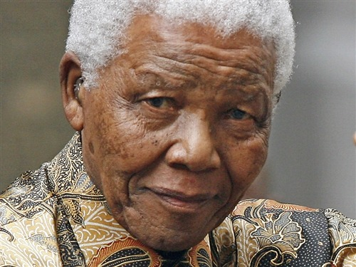 Mandela hospitalized for tests 'consistent with his age,' South Africa says (Photo: Leon Neal / AFP - Getty Images file) JOHANNESBURG — Former South African president Nelson Mandela was admitted to hospital on Saturday for medical tests, although the government said there was no cause for alarm. A statement from President Jacob Zuma's office gave no details of the condition of the 94-year-old anti-apartheid leader. Read the complete story.