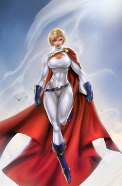 DC Powergirl, day, B. Booth by *sinhalite