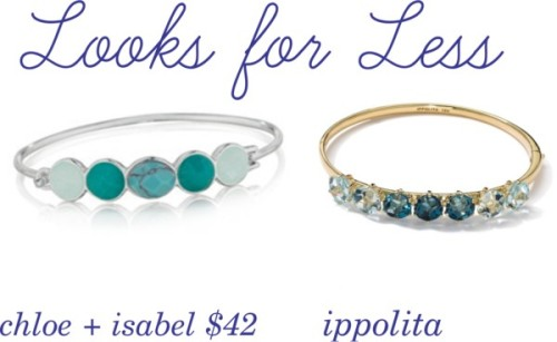 Looks for Less: ippolita edition by kaitlynsmith-i featuring a bangle bracelet
