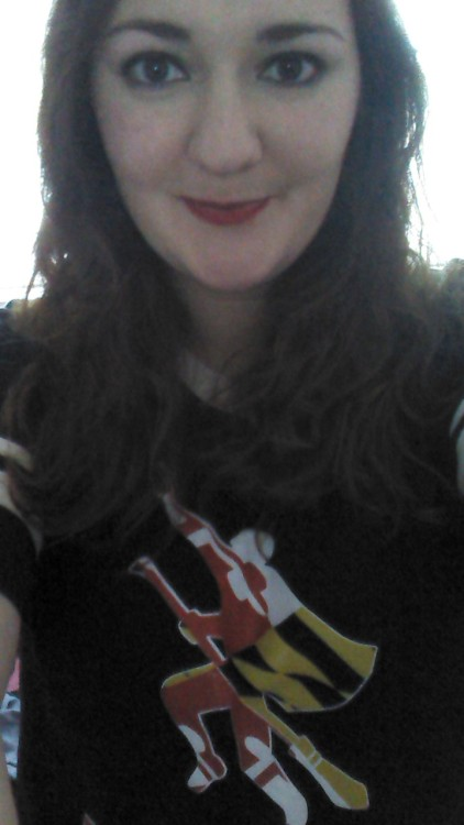 Wearing my Quidditch jersey & wishing I was down at World Cup VI with everyone!