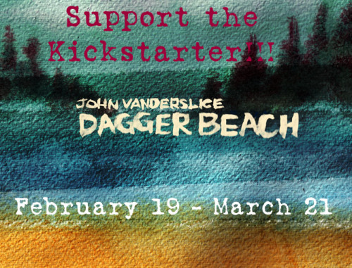 johnvanderslice:  My Kickstarter is LIVE! I need you Tumblr-ites. My new album, Dagger Beach, comes out in early Summer on my own label, Tiny Telephone. I need your support to help with the enormous costs of self-releasing this record. This Kickstarter is both a fund raiser and a pre-order for the new record. I am a little fearful of doing this on my own. The cost alone of printing vinyl is around 12k. Speaking of… The Dagger Beach vinyl issue is a 200g pressing from QRP, the best vinyl plant in the country. It sounds HELLA GOOD. I'm really proud of this record, it's dirtier and weirder than anything I've done since Cellar Door. I've also made a full-length cover of Bowie's amazing Diamond Dogs. A *very* limited run of 200g vinyl records will be available through Kickstarter as well. We've got two new t-shirts (including an updated version of the Library Card), digital downloads, and tons more stuff. Other rewards you may be interested in: LIMITED EDITION SCREEN PRINTS, I WILL MARRY YOU (to another person), HOUSE SHOWS, I WILL PRODUCE YOUR EP, LISTENING PARTY FOR DAGGER BEACH, TINY TELEPHONE / TAQUERIA TOUR in San Francisco, UNRELEASED RARITIES CD, and ohh so many more. All artwork for the albums, screen prints, t-shirts and more by the great Joe Williams!! Please reblog this!  JV blames me for this, so help me be right. Pledge, Share and Support Good Music.